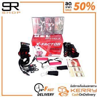 X-Factor By Weider (TRX Style) เครื่องออกกำลังกาย เสริมกล้ามเนื้อ สายยืดแรงต้าน ติดตั้งกับประตู ครบทุกสัดส่วน