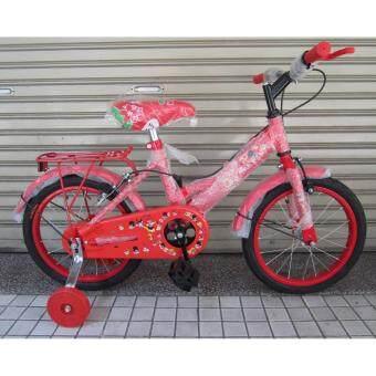"""2561 Z1 จักรยาน 16"""" MTB สีแดง"""