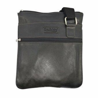 แฟชั่น กระเป๋าสะพายข้าง PU สี ดำ แบรนด์ DOLPHIN BAG รุ่น DP-01