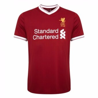 Harga 2017/18 season Liverpool Club Football jersey soccer jersey hometop Thai jersey with brand logo - intl