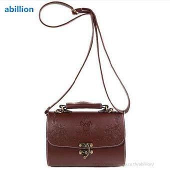 A billion กระเป๋า กระเป๋าสะพาย กระเป๋าสะพายผู้หญิง No.0223 (brown)