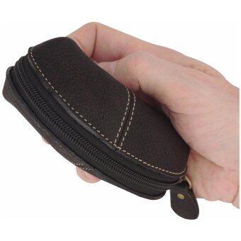 กระเป๋าสตางค์ใส่เหรียญเกรด A ใส่บัตร ใส่ของมีค่า สำหรับสุภาพบุรุษและสตรี Sun Lifestyle รุ่น SL267-1 (สีดำ)