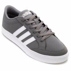 ADIDAS MEN รองเท้าผ้าใบ ผู้ชาย รุ่น  VS SET - BB9672 (GRETHR/FTWWHT)