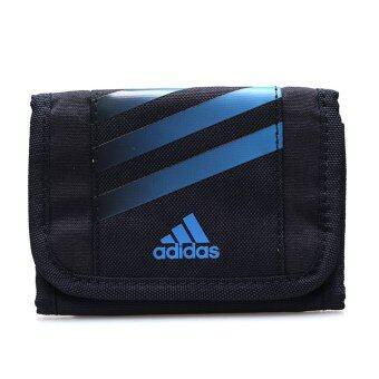 ADIDAS กระเป๋าสตางค์ รุ่น STRIPES WALLET – V87039-NS (BLUE/BLACK)
