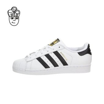 Harga Adidas Superstar J Retro Shoes (White / Black-White) c77154 - intl