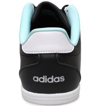 ADIDAS WOMEN รองเท้าผ้าใบ ผู้หญิง รุ่น VS CONEO QT W - BB9647(CBLACK/MSILVE/ENEAQN) - 4