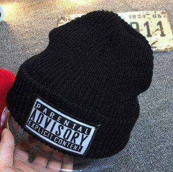 หมวกไหมพรม - Advisory สีดำ