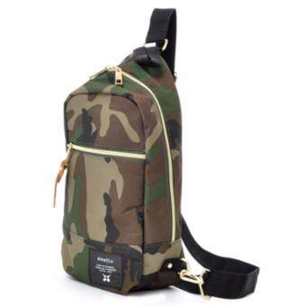 Anello Shoulder Vertical Bag กระเป๋าสะพาย (Camo)