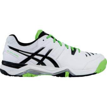 ASICS-GEL-CHALLENGER 10-WHITE/SILVER/FLASH GREEN