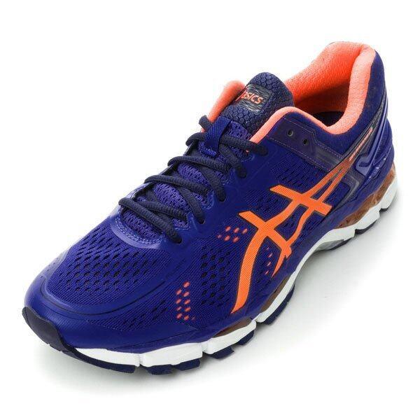 ASICS Men Running รองเท้าวิ่งผู้ชาย GEL-KAYANO 22 #T547N.4330 (BLUE/HOT ORANGE/INDIGO BLUE)