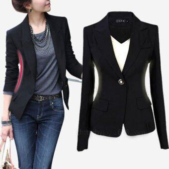 Autumn Outwear Women Slim Casual OL Short Suit Coat Jacket - intl