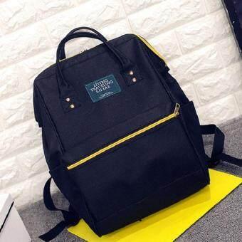 กระเป๋าเป้สะพายหลัง กระเป๋าแฟชั่น รุ่น034 (สีดำ)