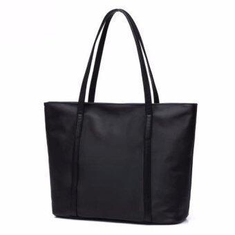 Baggalista กระเป๋าสะพายไหล่ ผ้าร่ม รุ่น Super Tote Bag สีดำ