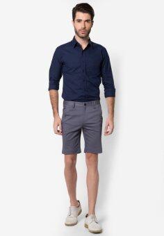B&B menswear & Fashion กางเกงขาสั้น Chino (Light Grey) - 4