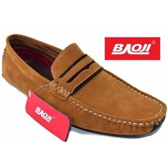 Baoji รองเท้าคัทชูชายBaoji รุ่น BK5009(Yellow)
