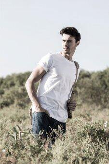 BARBARI เสื้อยืด premium cotton คอกลม (สีขาว)