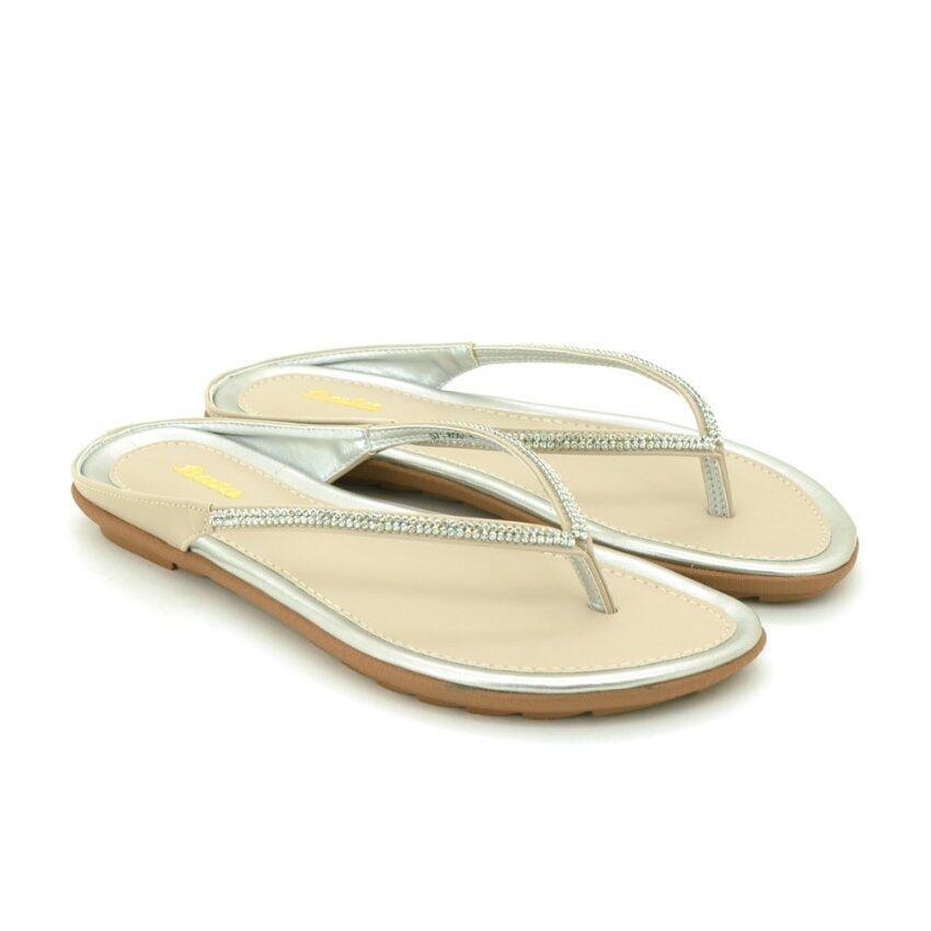 BATA รองเท้าแฟชั่นผู้หญิงแตะลำลองแบบสวม LADIES FLATS TONG สีเนื้อ รหัส 5718551