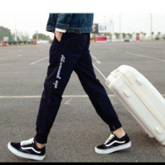 BB Ole Style กางเกงขายาวลำลอง แฟชั่นสำหรับผู้ชาย รุ่น 014 สีดำ