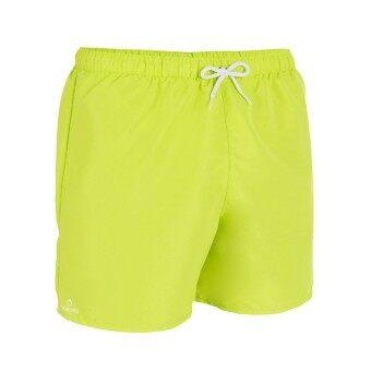ราคา Beautyshop กางเกงว่ายน้ำขาสั้นสำหรับผู้ชายรุ่น HENDAIA (สีเขียว)