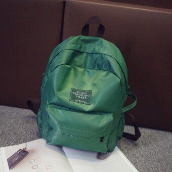 Bentoy กระเป๋าเป้ผ้าร่ม กระเป๋ากันน้ำ สไตล์ulzzang green