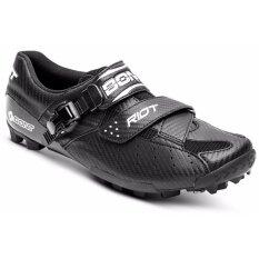 Bont Riot  รองเท้าเสือภูเขา Carbon Composite Construction with Microfiber Upper สีดำ size 45 / US11