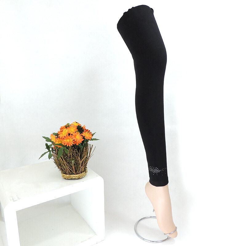 ผ้าฝ้ายเกาหลีนางสาวฤดูใบไม้ผลิและฤดูใบไม้ร่วงถุงน่องกางเกง bottoming กางเกง (สีดำ XK921-1)