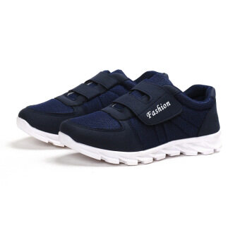 Bylcomfort breathable Anti-SLIP Sport Casual Shoes (สีฟ้า)