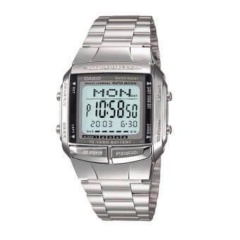 Casio Data Bank นาฬิกาข้อมือสุภาพบุรุษ Stainless Strap รุ่น DB-360-1A