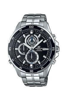 Casio Edifice นาฬิกาข้อมือผู้ชาย สายสเตนเลส รุ่น EFR-547D-1A - Silver/Black
