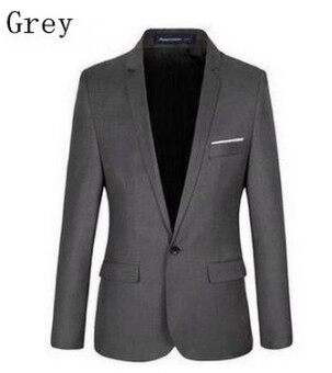 Casual suit Korean style professional suit jacket small suit young coat best man clothes - intl