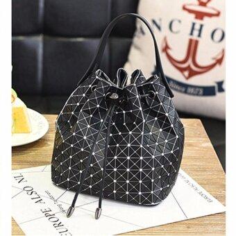 กระเป๋าถือแฟชั่น ผู้หญิง no.1 (Black/White)