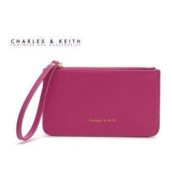 Charles & keith wristlet wallet (Pink)