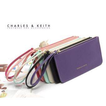 Charles & keith wristlet wallet (Pink) - 2