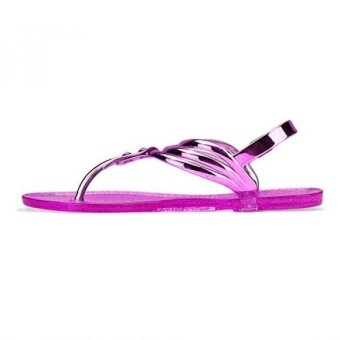 Chemistry® ZADA Womens Roman Gladiator Thong Flat Sandals Adjustable Ankle Strap Shoes (9 B(M) US Pink) - intl