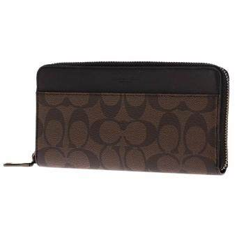 Coach กระเป๋า ACCORDION WALLET IN SIGNATURE รุ่น F58112-MA/BR