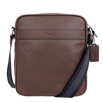 COACH กระเป๋า CHARLES FLIGHT BAG IN SMOOTH LEATHER F54782 MAH (Mahogany)