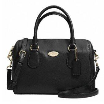 COACH CROSSGRAIN LEATHER MINI BENNETT SATCHEL รุ่น 33329 - Black