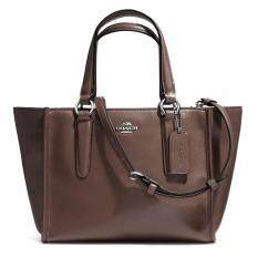 กระเป๋า COACH F33537 CROSBY MINI CARRYALL IN SMOOTH LEATHER (SVMIK)