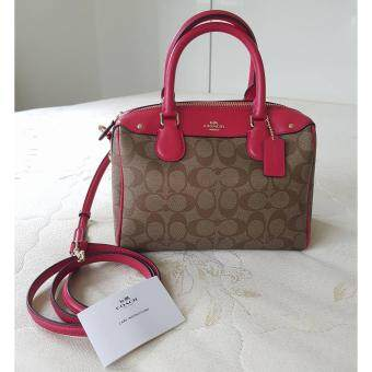 Coach F58312 MINI BENNETT SATCHEL IN SIGNATURE ทรงหมอน