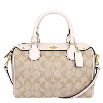 ประกาศขาย COACH MINI BENNETT SATCHEL IN SIGNATURE F58312 IMDQC (IM/Khaki/Chalk)