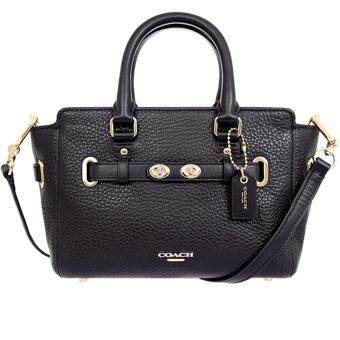 COACH MINI BLAKE CARRYALL IN BUBBLE LEATHER (COACH F37635)