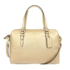 COACH Peyton Bennett Mini Satchel รุ่น 50430 ( Gold )
