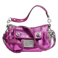 COACH POPPY SEQUIN GROOVY BAG SWEETHEART รุ่น 16482 - PINK