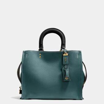 รีวิว Coach Rogue Bag in Glovetanned Pebble Leather Style No.38124MINERAL
