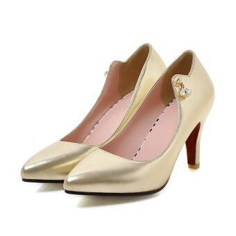 Harga Comfortable Shoes Ladies Shoes High Heeled Shoes Fashion Shoes -intl
