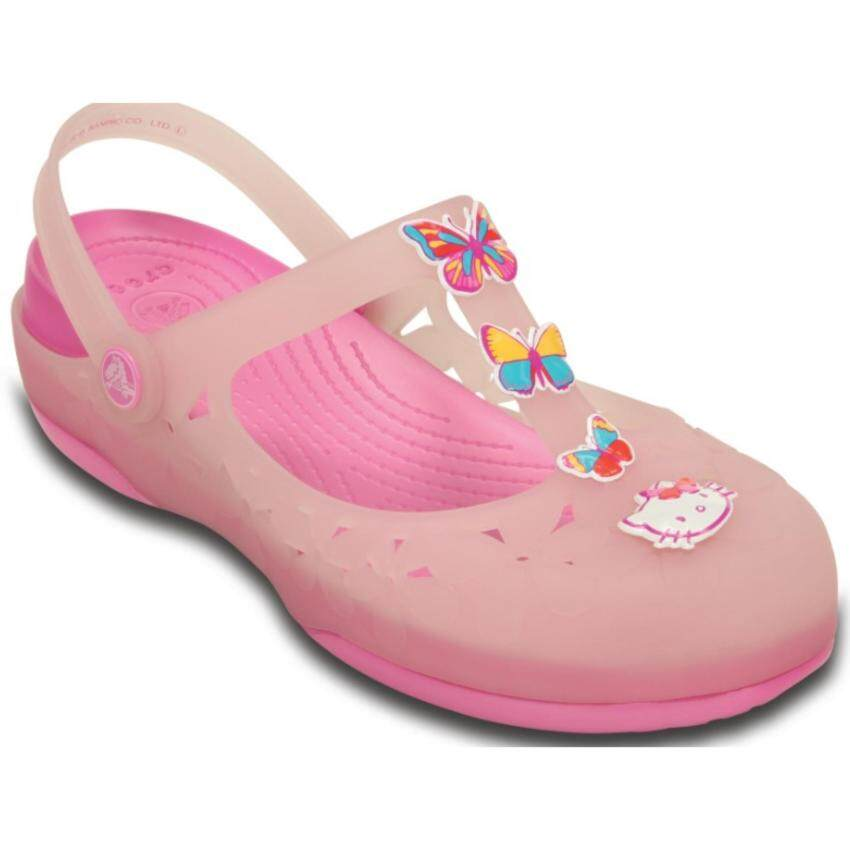 CROCS-Carlie Flower Hello Kitty II W-Cotton candy