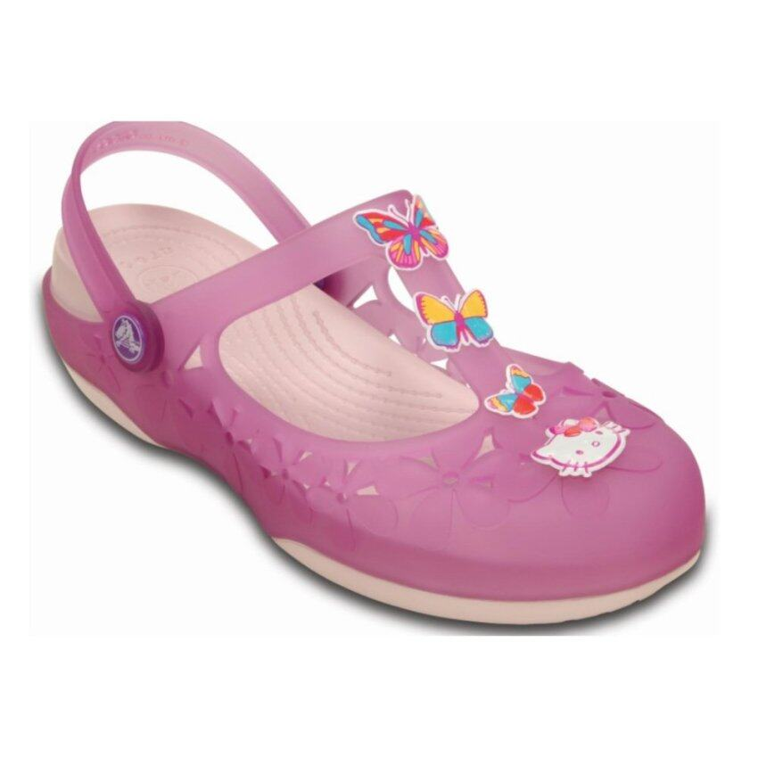 CROCS-Carlie Flower Hello Kitty II W- Dahlia