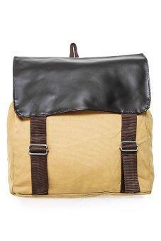 ขาย DM กระเป๋าเป้แคนวาส - สีน้ำตาล