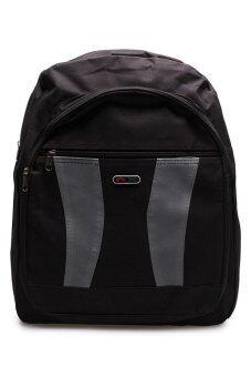 "DM กระเป๋าเป้ nx curve (สีดำ/เทา)"""