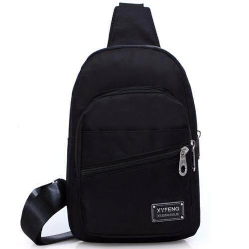 fashion กระเป๋าสะพายไหล่ รุ่น XY541-854 (สีดำ)